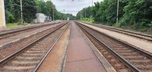 Popis nádraží na Hluboké - Zámostí
