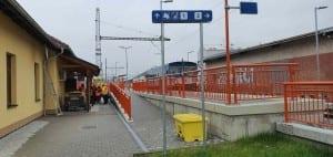 Kudy na vlak v Hustopečích u Brna