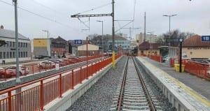 Hustopeče u Brna vlakem