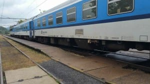 Vlak do Ostrova nad Ohří