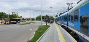 Židlochovice nástupiště