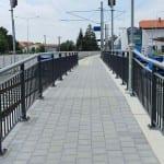 Přístup na nástupiště v Židlochovicích