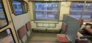 Místo pro kola ve vlaku Btx 765