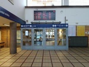 Jak vypadá nádraží v Hranicích na Moravě