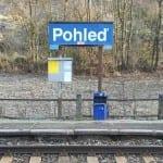 Zastávka Pohleď na trati Světlá nad Sázavou - Havlíčkův Brod