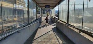 Na nádraží v Šumperku