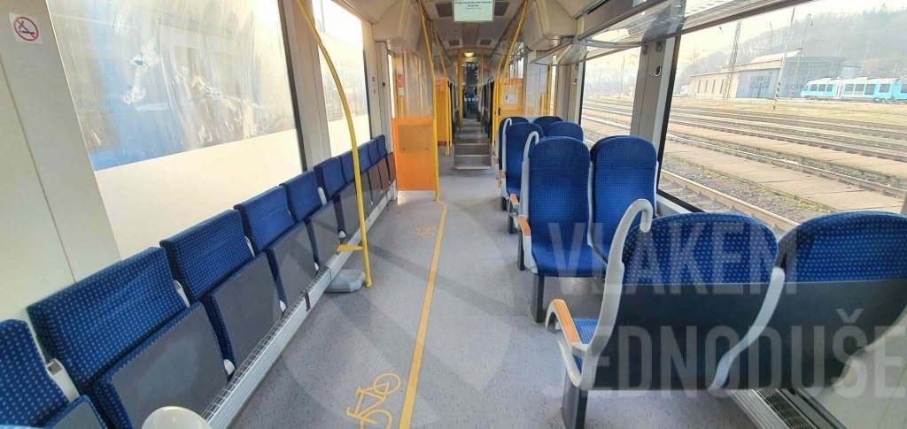 Cestujeme s kolem vlakem Arriva
