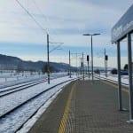 Na nádraží v Petrově nad Desnou