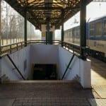 Kudy na vlak v Poděbradech