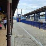 Jak to vypadá na nádraží v Táboře
