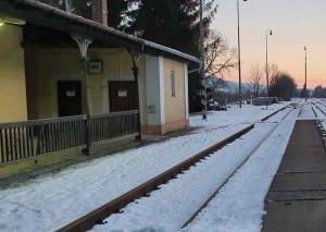 Kudy na vlak ve Valšově