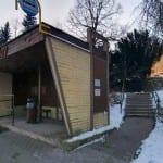 Autobusová zastávka Valšov, žel. stanice