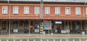 Jak to vypadá na nádraží ve Veselí nad Lužnicí