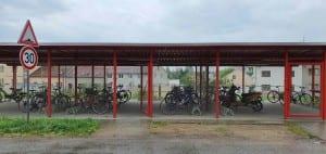 Přístup na nádraží ve Veselí nad Lužnicí