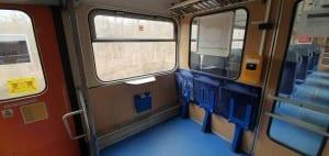 Místa pro kola a kočárky ve voze 810