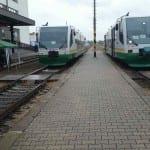Kudy v Karlových Varech na vlak
