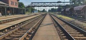 V Kojetíně na nádraží