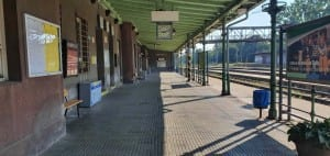 Na nádraží v Kojetíně