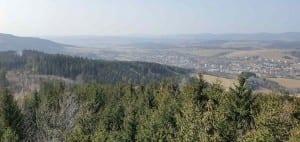 Valašské Klobouky - rozhledna Královec