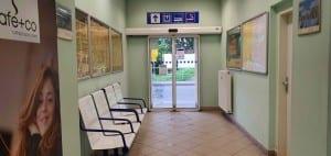 Letovice nádraží čekárna