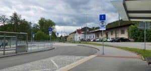 Autobus Letovice, železniční stanice