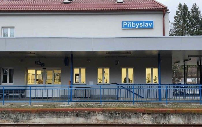 Nádraží Přibyslav