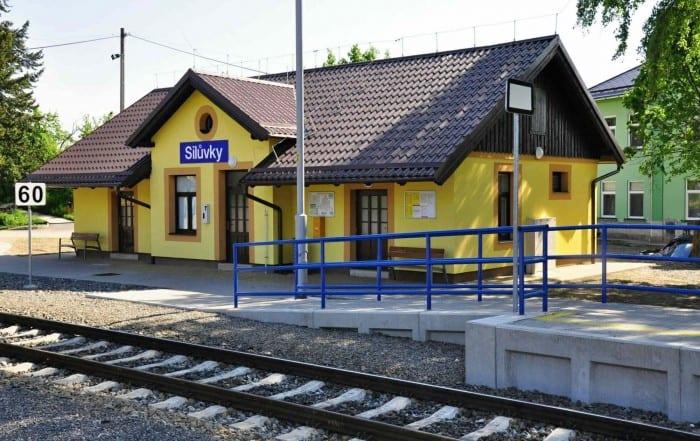 Silůvky vlakem