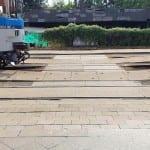 Cesta na vlak v Uherském Hradišti