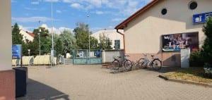 Parkování v Uherském Hradišti u nádraží
