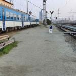 příchod na nástupiště v Brně Horních Heršpicích