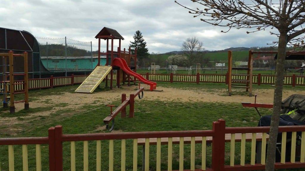Dětské hřiště v Doubravicích nad Svitavou