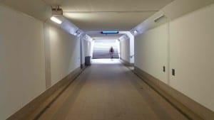 Frýdlant nad Ostravicí podchod pod nádražím
