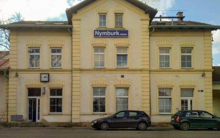 Nádraží Nymburk město