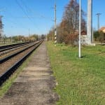 Železniční zastávka Ořechov