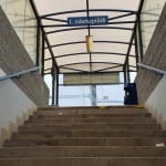 Podchod na vlak v Ostrove nad Oslavou