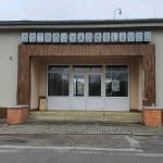 Čekárna na nádraží Ostrov nad Oslavou