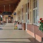Malované nádraží Uherské Hradiště
