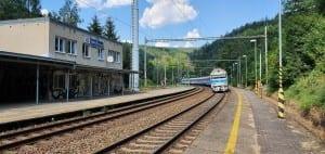 Česká nádraží Babice nad Svitavou