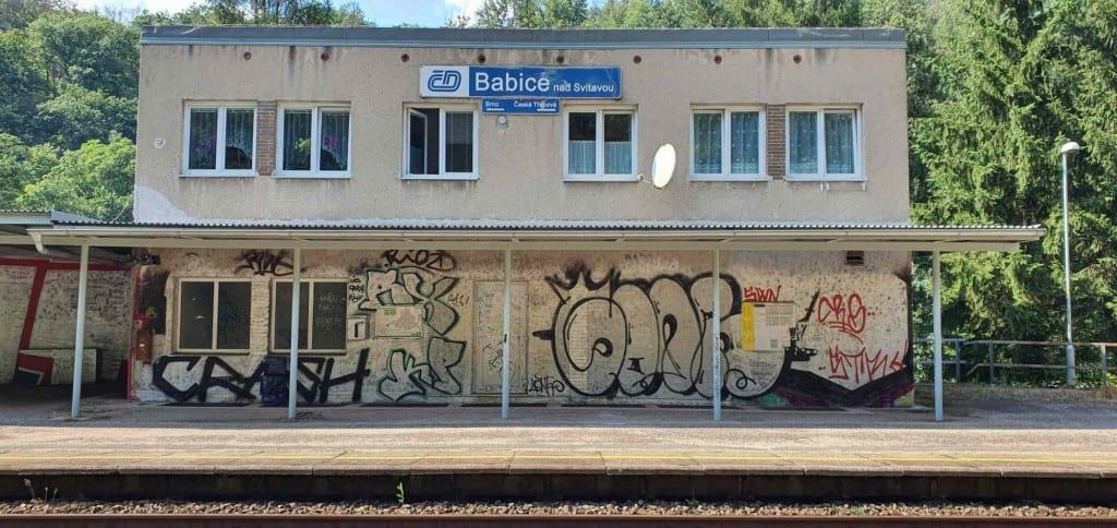 Babice nad Svitavou železniční zastávka
