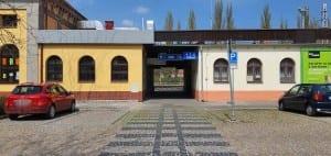 Přístup na nádraží v Hodoníně