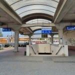 Podchod pod nádražím v Hodoníně