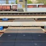 Hodonín: přístup na 1. a 2. nástupiště