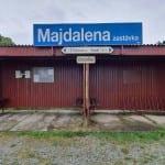 Vlakem do Majdaleny