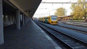 Prostějov hlavní nádraží