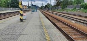 Rokycany nádraží 3. nástupiště