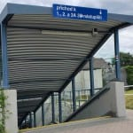 Podchod pod nádražím v Rokycanech