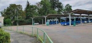 Rokycan autobusové nádraží