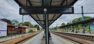 Rokycany vlakem