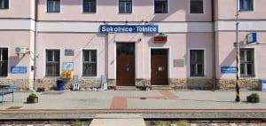 Čekárna na nádraží Sokolnice Telnice
