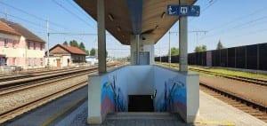 Na nádraží v Tlumačově